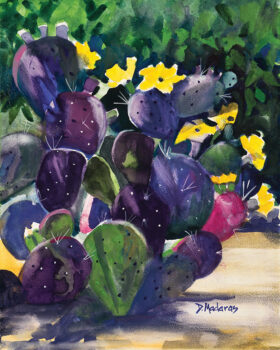 """""""Purple Morning"""" by Diana Madaras, will be featured at this event."""