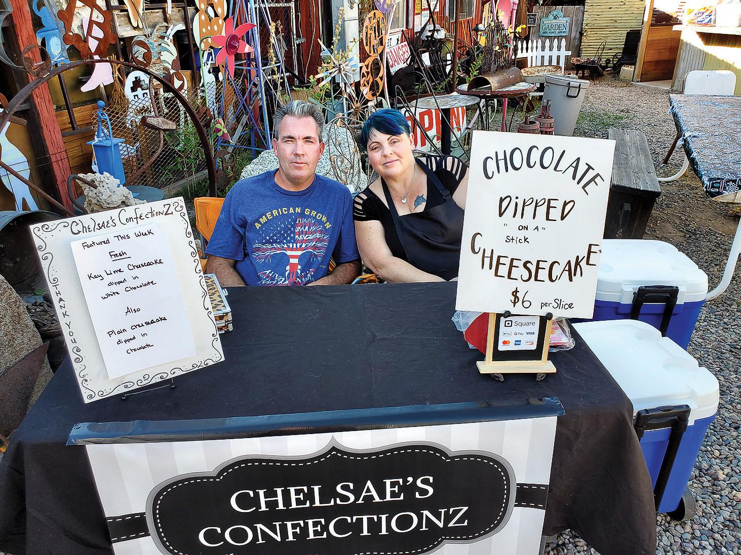 Chelsae's Confectionz Etc.: Chelsae and Simon Hanson