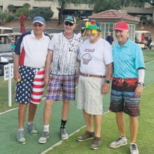 Dennis Marchand, Phil Cohan (stud muffin), Peter Wright, and Fred Pilster