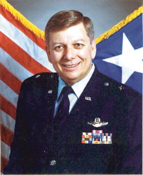 Brigadier General (retired) Ronald E. Shoopman will speak at noon on Zoom on Thursday, Nov. 12.