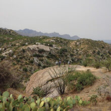 The view from Picnic Rock (Photo courtesy of Kaori Hashimoto)