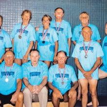 Early Sierra Vista Senior Olympics swim meet