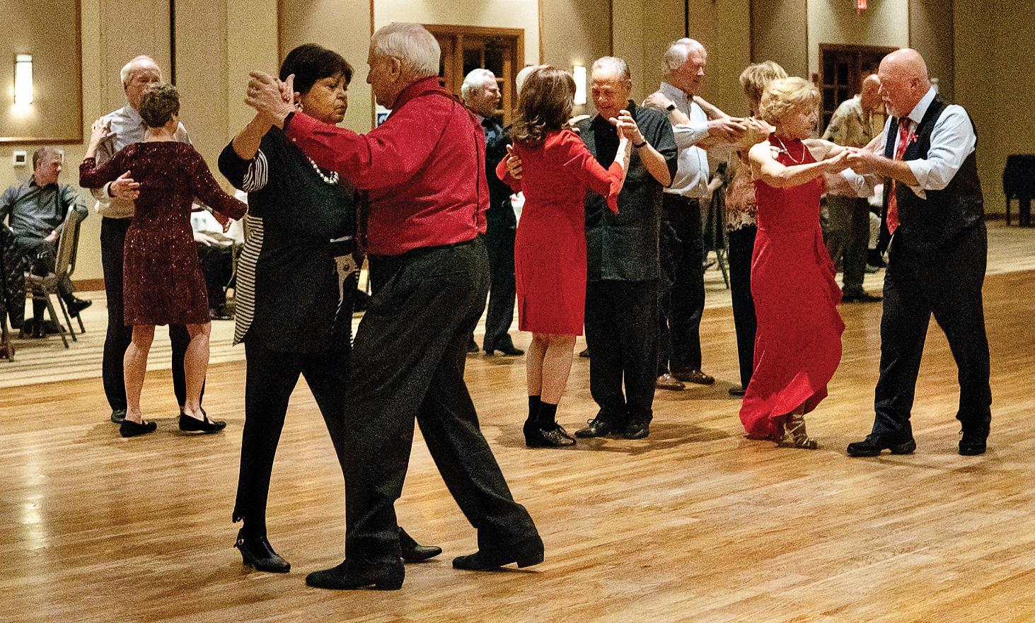 Dancers enjoying a SBDC Dinner Dance. (Photo by Sheila Honey)