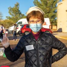 Nurse Sally Teusch