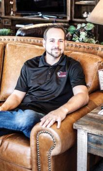 Josh Brett, owner of Brett Interiors