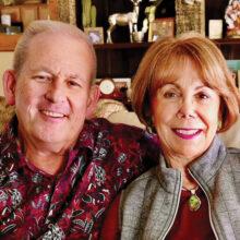 Lyle Larson and his wife Jen Jefferis