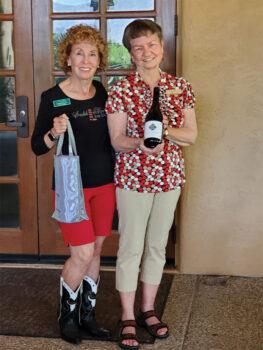 Wanda Ross and Judy Saks